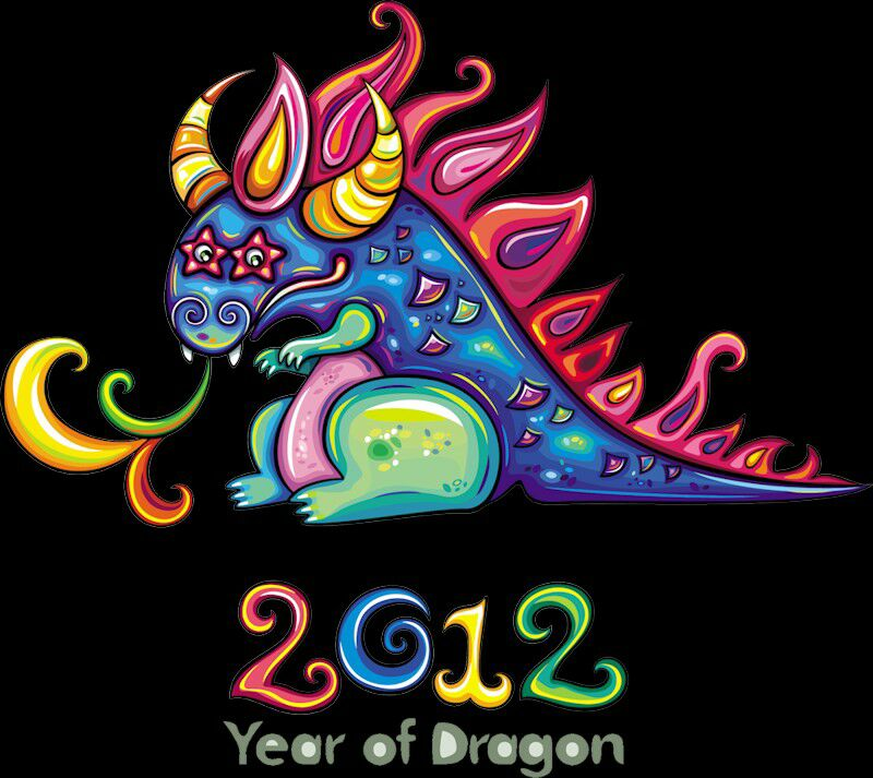 happy 2012 year of the dragons